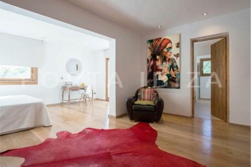 bedroom3-wonderful villa-San José-mediterranean garden