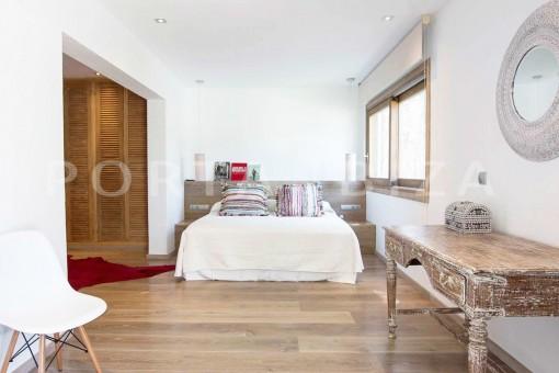 bedroom4-wonderful villa-San José-mediterranean garden