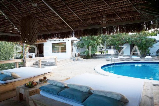 chillout & pool-wonderful villa-San José-mediterranean garden