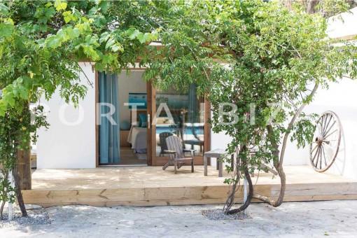 garden & living-wonderful villa-San José-mediterranean garden
