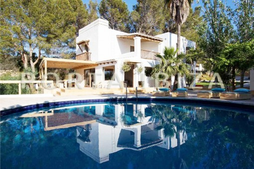 Wunderbare Villa bei San José mit herrlichem , mediterranem Garten
