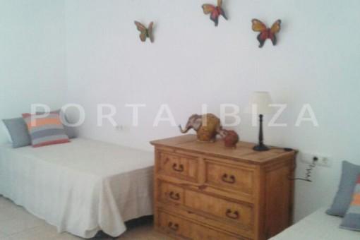 bedroom2-nice terraced house-cala moli-with pool
