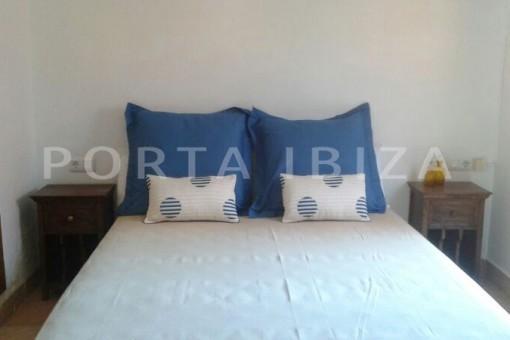 bedroom3-nice terraced house-cala moli-with pool