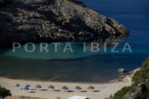 cala moli beach-nice terraced house-cala moli-with pool