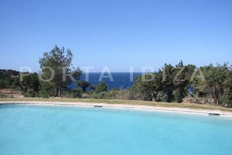 community pool-nice terraced house-cala moli-with pool
