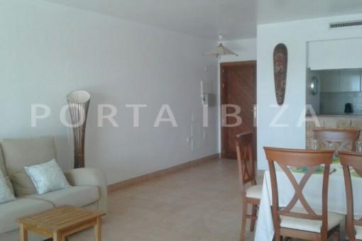 living areal-nice terraced house-cala moli