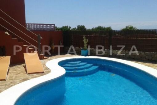 pool-nice terraced house-cala moli
