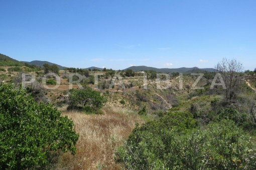 Wonderful campo views-high quality country house-Es Cubells