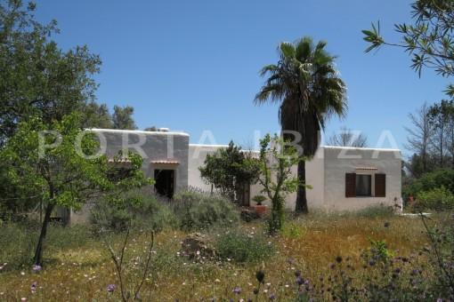 Herrliches  hochwertiges Landhaus in Es Cubells mit fabelhaftem Landschaftsblick
