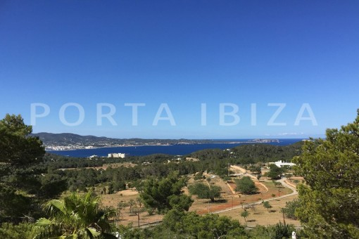 marvelous view-wonderful villa with sea view at can germá