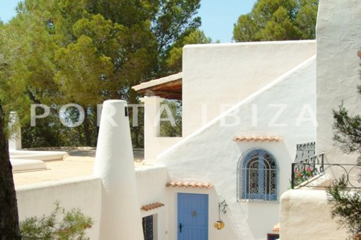roofterrace-wonderful villa with sea view at can germá