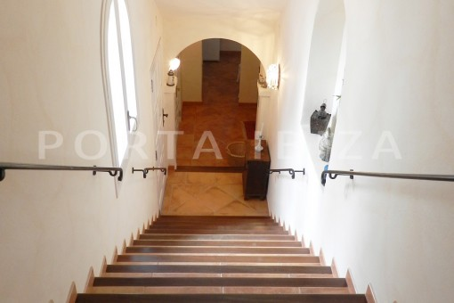 stairway-wonderful villa with sea view at can germá