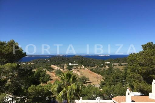 views-wonderful villa with sea view at can germá
