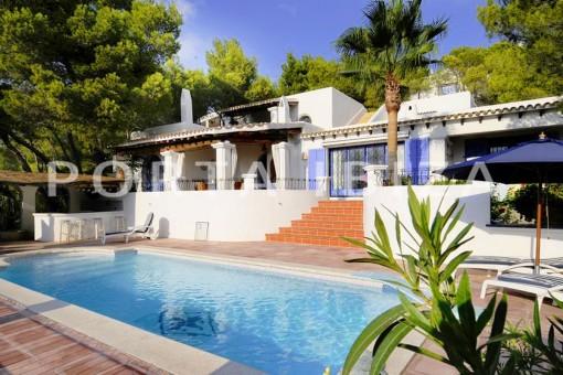 Wunderbare Villa mit Meerblick bei Can Germá