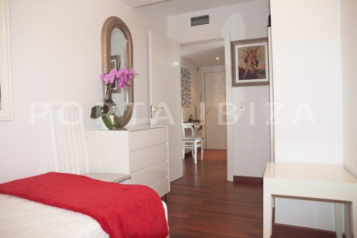bedroom2-well maintained apartment-fantastic sea and sunset view