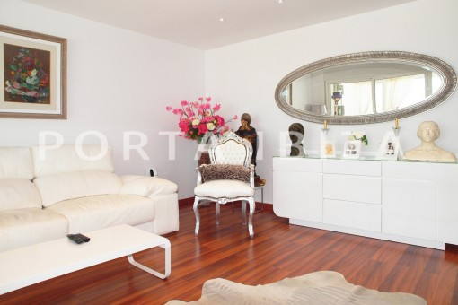 living area-modern-super well maintained apartment-fantastic sea and sunset view