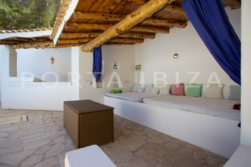 big chillout area-party and retreat house-close to ibiza
