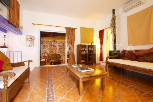 living area-party and retreat house-close to ibiza