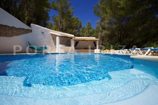 pool & terraces-party and retreat house-close to ibiza