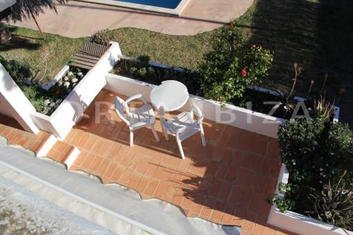 chill terrace-beautiful house at Sa Carroca