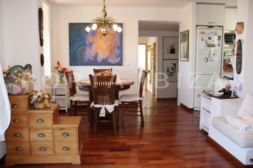 dinner-beautiful house at Sa Carroca