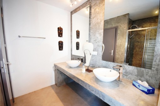 bathroom2-high quality & modern villa-cala conta-sea view