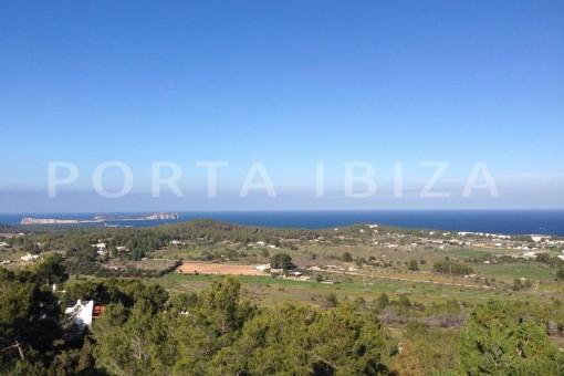 Hochwertige , moderne Villa bei Cala Conta mit fabelhaftem Meerblick