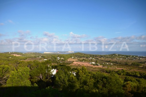 sea & land view-high quality & modern villa-cala conta