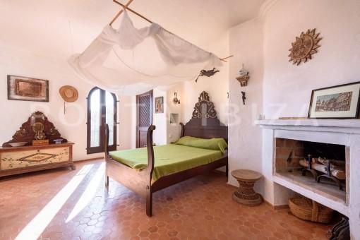 bedroom1-incredible property-fabulous panoramic views-Es Vedra
