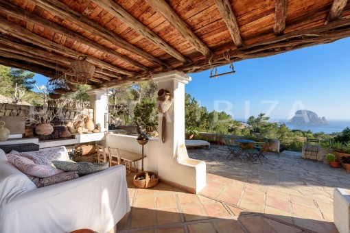 chillout-incredible property-fabulous panoramic views-Es Vedra