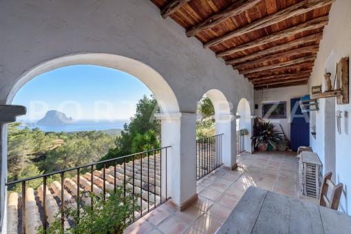 incredible property-fabulous panoramic views-Es Vedra