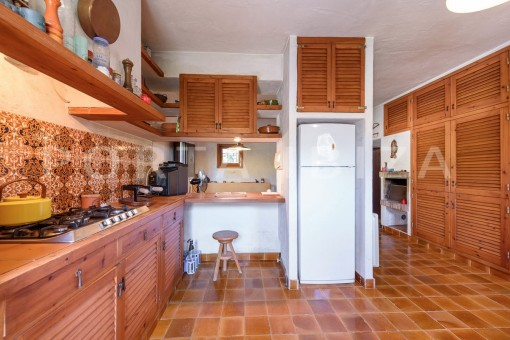 kitchen area-incredible property-fabulous panoramic views-Es Vedra