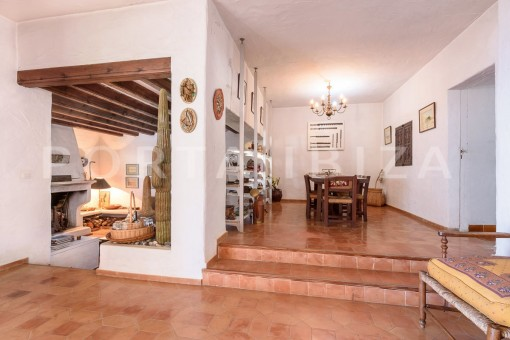 living & dinner-incredible property-fabulous panoramic views-Es Vedra