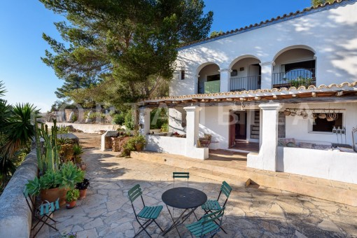 terraces-incredible property-fabulous panoramic views-Es Vedra