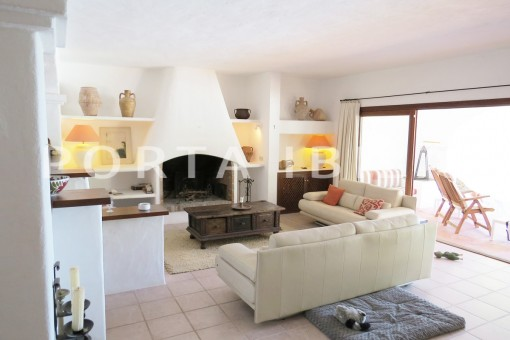 livingroom-wonderful house at Can Germa-great sea view