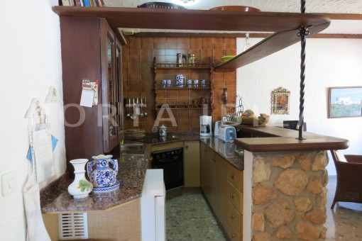 kitchen area-house for renovation-close to the beach-Es Figueral