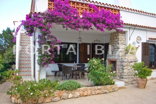 Strandnahes Haus zum Renovieren bei Es Figueral
