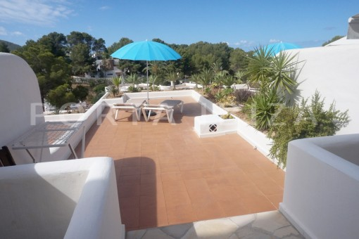 terrace-charming apartment-beautiful view-Coralmar
