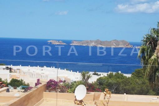 fantastic sea views-fabulous house-pool-Cala Moli