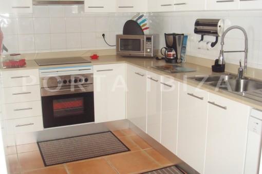 kitchen-fabulous house-fantastic sea views-pool-Cala Moli