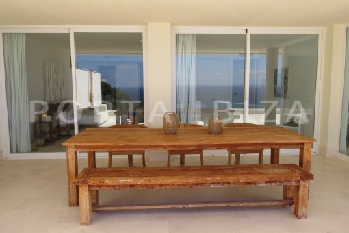 bid terrace-marvelous modern apartment-breathtaking sea view