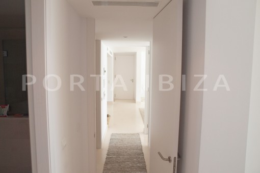 corridor-marvelous modern apartment-breathtaking sea view