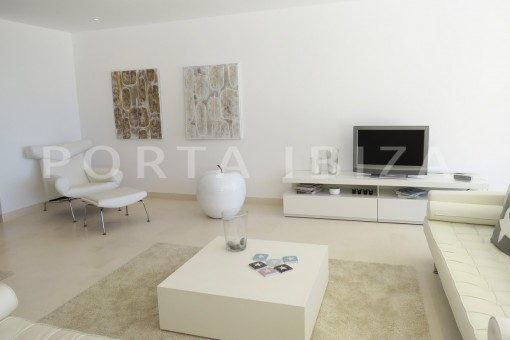 living area-marvelous modern apartment-breathtaking sea view