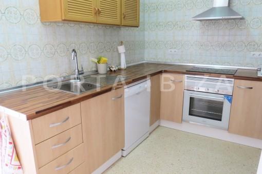 charming house-second kitchen-San Agustin