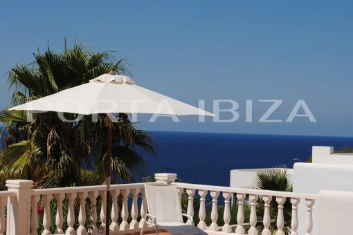Charmante Villa in Cala Vadella mit herrlichem Meerblick