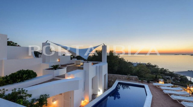 sea view calo den real villa