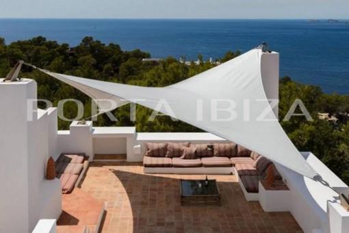 villa roof terrace calo den real
