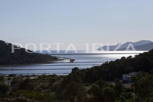 Fabelhaftes Anwesen mit fantastischem Meerblick und  Blick auf die Salinen