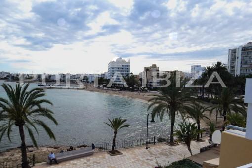 Ibiza apartment view
