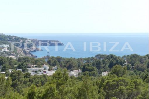 cala tarida sea view villa